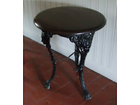 Antique Cast-Iron Table