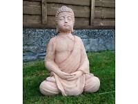 Buddah; stone garden ornament