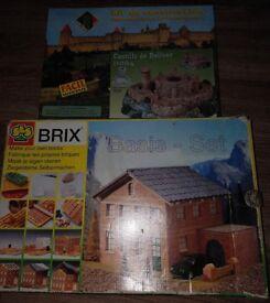 modelling Castillo de Bellver / brick construction kits