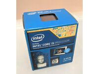 Intel i5 4570 Quad Core 3.2 GHz LGA 1150 with heatsink