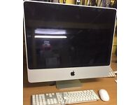 Apple iMac 24'' Screen,Core 2 Due,4GB RAM,320GB hdd,OS X 10.10,Mac office 2011