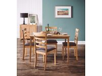 Brand New Dining Table & 4 Dining Chairs