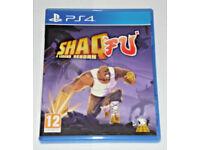 SONY PLAYSTATION PS4 GAME SHAQ FU A LEGEND REBORN MAD DOG PAL 12 UK EDTN & CODES
