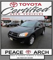 2012 Toyota RAV4 Toyota Certified, Excellent Condition, Sunroof