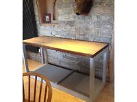 Gorgeous Workbench Kitchen Island Table