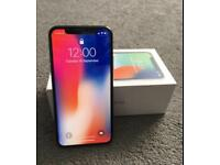 IPhone X 256GB Space Grey Locked to EE