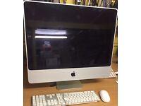 iMac 24'' screen size,Core 2 due,6GB RAM,250GB SSD <Mac office 2011,OS X 10.10,keyboard,mouse