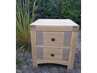 Oak drawers. Large solid oak.