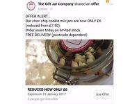 Cookie mix jar hamper teacher thank you gift valentine easter holiday