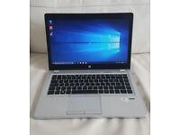 HP Elitebook Folio 9470M, Intel i5 3rd Gen, 8GB RAM, 180GB HDD, 14 Inch HD Display.