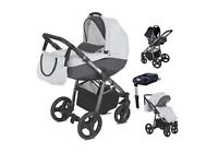 Pushchair 6months old. Carry cot, carseat, pushchair, baby bag, raincover