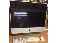 imac 24'',4GB RAM,320GB Hdd,Core 2 due ,Mac office 2011,keyboard and mouse