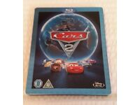 Disney Pixar Cars 2 steelbook blu ray DVD