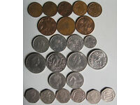 Isle of Man coins, 75p - £1.50 each