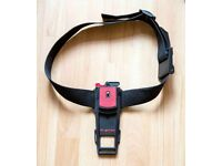 b-grip camera waist belt, with quick release buckle.