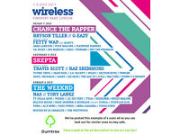 WIRELESS TICKETS x 2 -- Read the ad description before replying!!