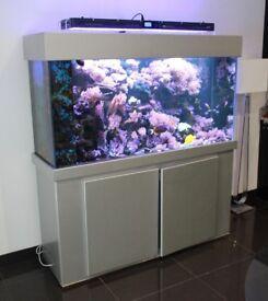 Marine Aquarium 500liters Fish Tank, will sell items separately