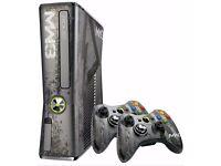 Xbox 360 320gb mw3 limited edition console