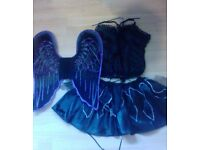 Ladies Dance Bat Lady outfit complete Wings