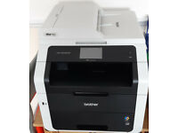 Brother MFC9340CDW Colour A4 Laser Printer, Scanner, Copier, Fax + 2 sets of toners.