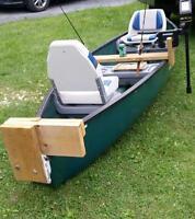 14' Flat back Canoe