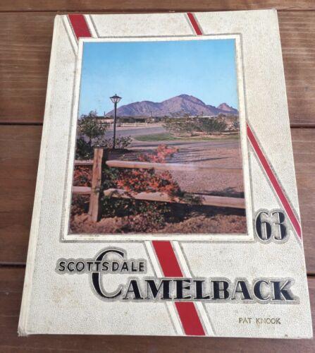 1963 SCOTTSDALE HIGH SCHOOL YEARBOOK SCOTTSDALE AZ ARIZONA CAMELBACK