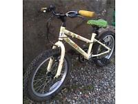 Girls bike 18 inch wheels