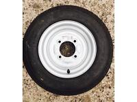 "Trailer spare wheel 10"" manchester"