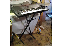 Technics Keyboard plus stand and pedal
