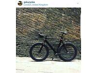 Goku cycles single speed bike fixed gear racing fixie track bike brand new aluminium frame bicycle 7