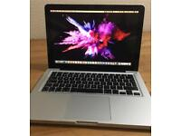 """13"""" Apple MacBook Pro i7 2.9Gz (turbo boost 3.5) 16GB RAM 500GB SSD"""