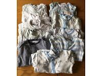 0-3 months sleep suit bundle