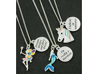 Girls Charm Necklaces