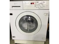 NEFF 7kg integrated washer dryer 1400 spin £150 free delivery & installation