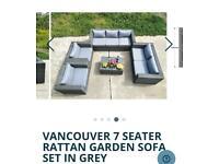 Brand New Rattan Grey Garden Furniture