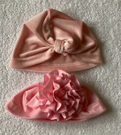 Baby Girl Hats 0 - 6 Months