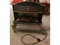 Electric plug in fire