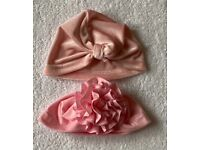 Baby Girl Pink Hats 0 - 6 Months