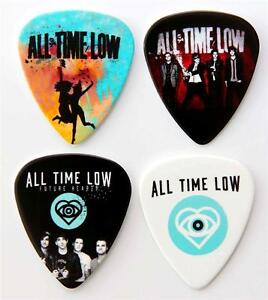 All Time Low Guitar Plectrums - Packet of 4 Premium Picks