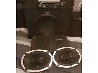 Vibe slick sub/amp and speakers