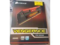 Corsair Vengeance® Pro Series — 8GB (2 x 4GB) DDR3 DRAM 1600MHz C9 Memory Kit