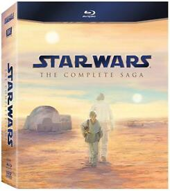 Star Wars complete saga Blu Ray