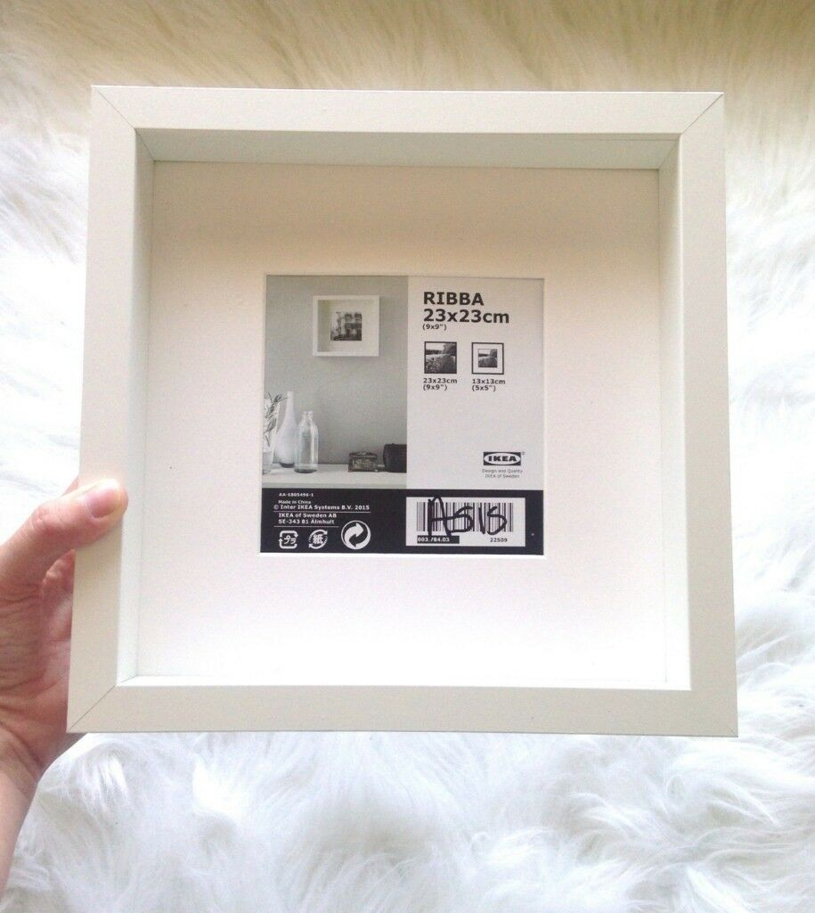 10 new IKEA Ribba White Square Box Frames | in Camberwell, London ...