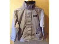 TRESPASS Blue Fleece Lined Hooded Jacket, Age 9-10