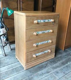 Tall Four Drawer Chest