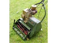 Webb Self-Propelled Traditional Roller Stripes Petrol Lawnmower