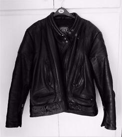 JTS Motorcycle Leather Jacket