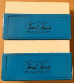 Trivial Pursuit Young Players Edition 2 Boxes Of Cards From 1989 Edition. VGC.