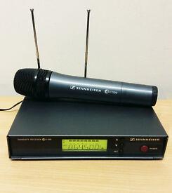 Sennheiser EW100 Handheld Wireless Microphone Legal FM Channel 70 (864.5 MHz)