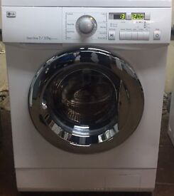 LG WD-12331AD 7/3.5kg 1200 Spin White LCD Sensor Dry Washer/Dryer 1 YEAR GUARANTEE FREE FITTING